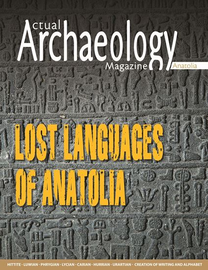 Picture of Actual Archaelogy Lost Languages of Anatolia