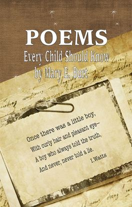 Picture of POEMS, Every Child Should Know  (Hardcopy)